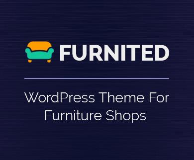 Furnited - Furniture Shop WordPress Theme