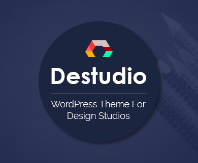 Destudio - Design Studio WordPress Theme