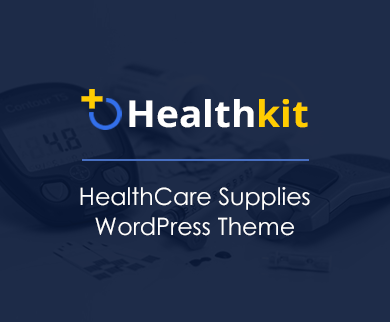 Healthkit - HealthCare Supplies WordPress Theme