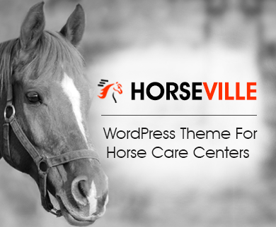HorseVille - Horse Care WordPress Theme