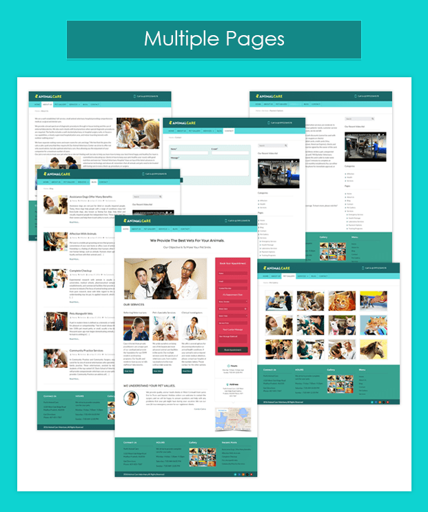 Multiple Pages-pet-animal-veterinary-wordpress-InkTheme