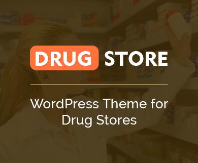 Drug Store - Drug Store WordPress Theme