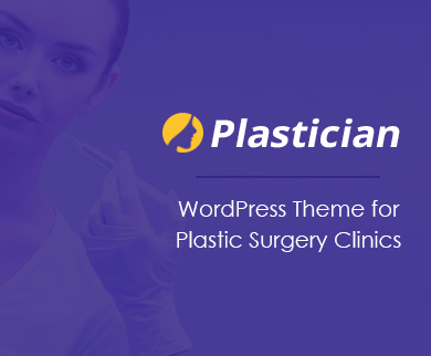 Plastician - Plastic Surgery WordPress Theme