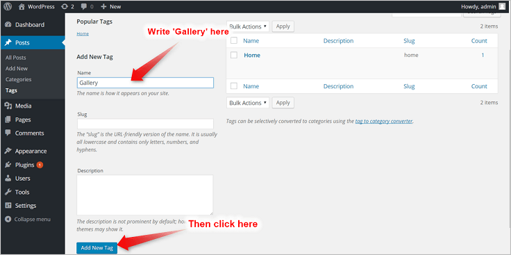 WordPress-adding-tags-InkThemes