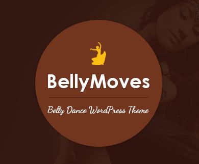 BellyMoves - Belly Dance WordPress Theme