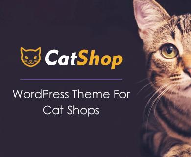 Cat Shop - Kittens & Cat Shop WordPress Theme