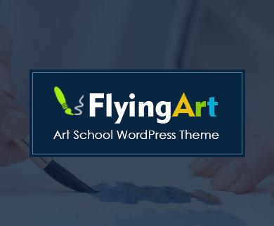 FlyingArt - Art School WordPress Theme