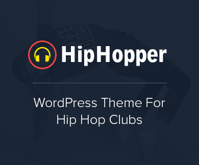 HipHopper - Hip Hop Dance Club WordPress Theme