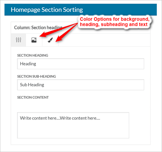 home page section sorting1 InkThemes