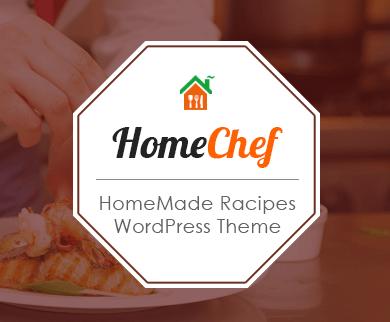 HomeChef - Home Recipe WordPress Theme