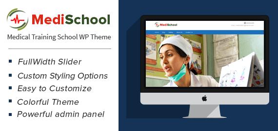 Medical Training School WordPress Theme