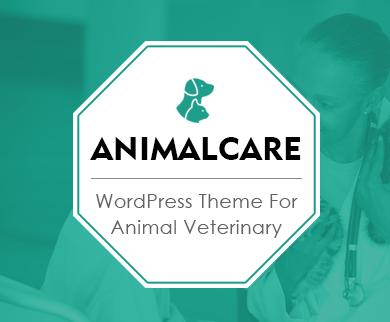 AnimalCare - Pets Doctor & Veterinary WordPress Theme