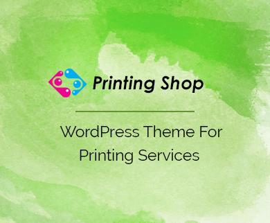 Printing Shop - Print Shop WordPress Theme
