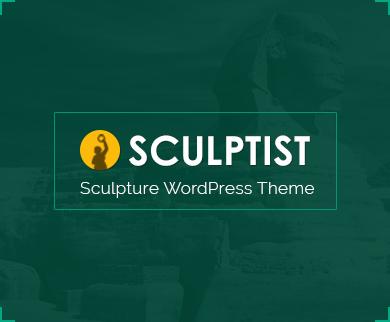 Sculptist - Sculpture Artist WordPress Theme