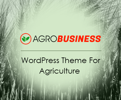 AgroBusiness - Agriculture WordPress Theme