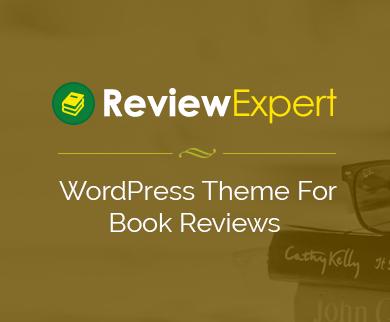 ReviewExpert - Book Reviews WordPress Theme