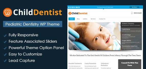 Pediatric Dentistry WordPress Theme