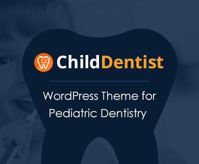 Child Dentist - Pediatric Dentistry WordPress Theme