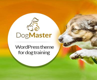 DogMaster - Dog Training WordPress Theme