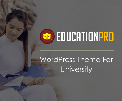 EducationPro - University WordPress Theme