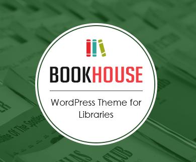 BookHouse - Library WordPress Theme