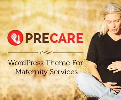 PreCare - Maternity Services WordPress Theme