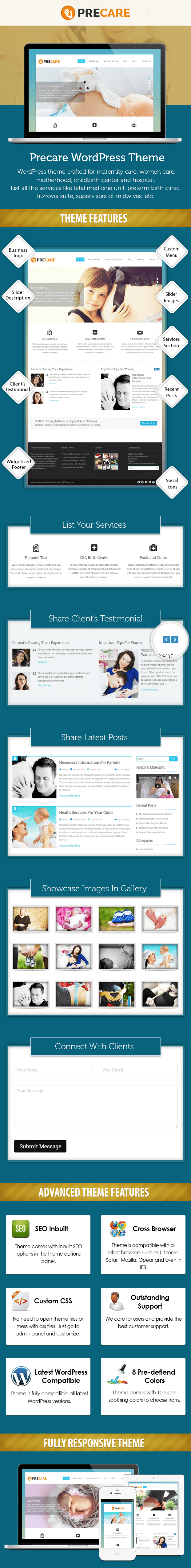 Maternity Services WP Theme