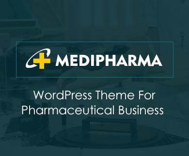 MediPharma - Pharmaceutical Business WordPress Theme