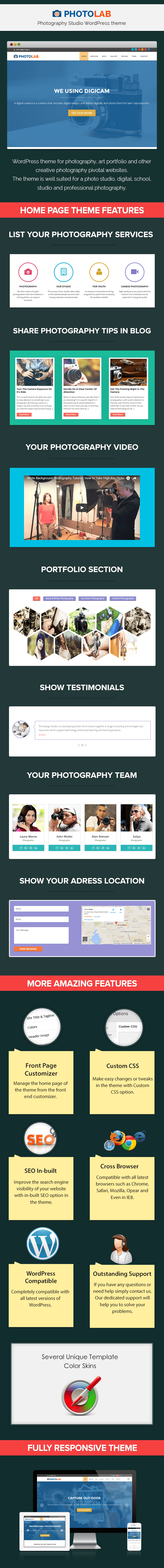Photography Studio WP Theme
