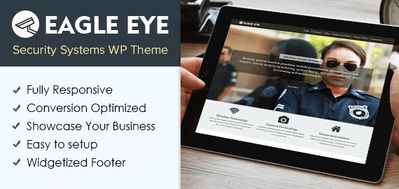 Security Systems WordPress Theme
