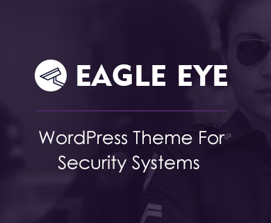 Eagle Eye - Security Systems Corporate WordPress Theme