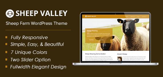 Sheep Farm WordPress Theme