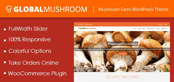 Mushroom Farm WordPress Theme