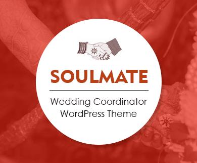 Soulmate - Wedding Coordinator WordPress Theme