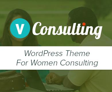 Women's Consulting WordPress Theme