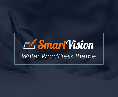 SmartVision - Writer WordPress Theme