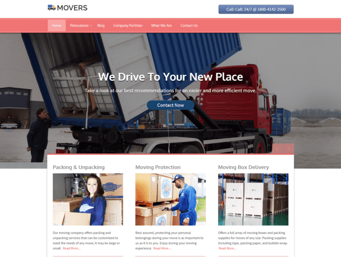 movers WP Theme