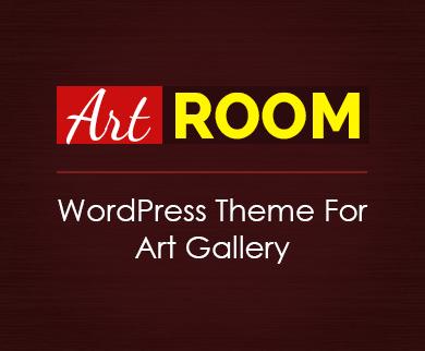 ArtRoom - Art Gallery WordPress Theme