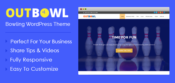 Bowling WordPress Theme