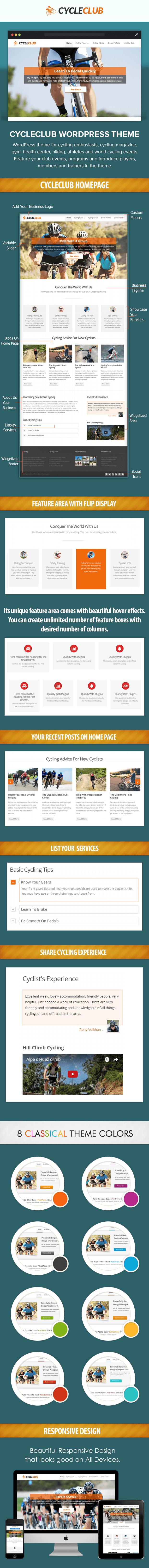 Cycling WP theme