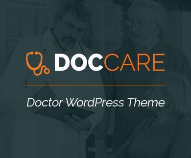 DocCare - Doctor WordPress Theme