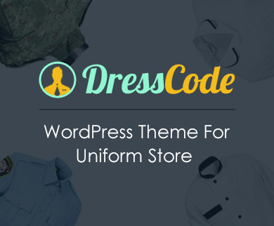 DressCode - Uniform Store WordPress Theme