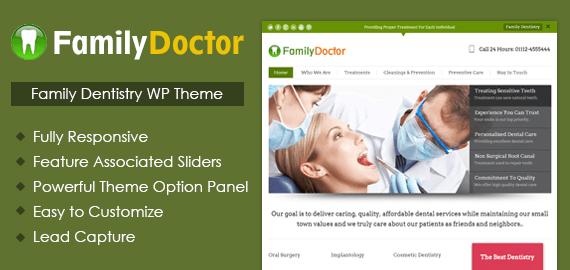 Family Dentistry WordPress Theme