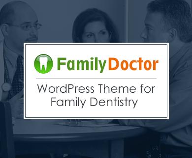 FamilyDoctor - Family Dentistry WordPress Theme