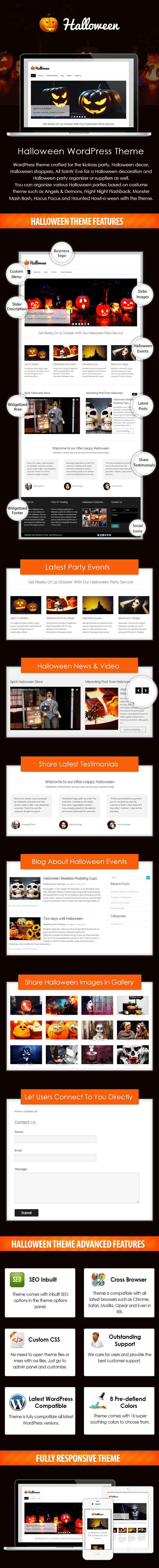 Halloween Store WP Theme