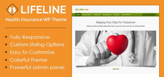 Health Insurance WordPress Theme