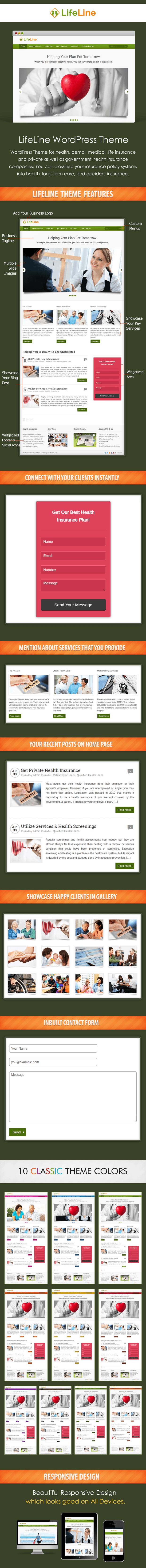 Health Insurance WP Theme