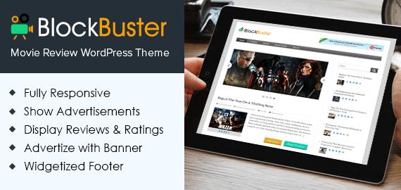Movie Review WordPress Theme