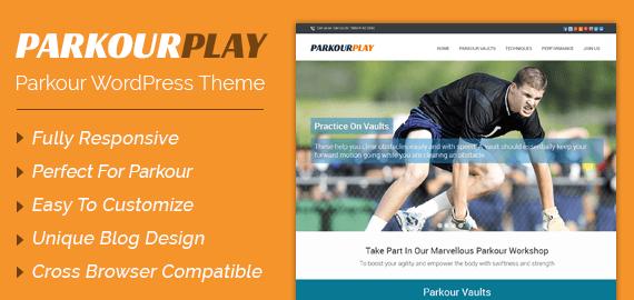 Parkour WordPress Theme
