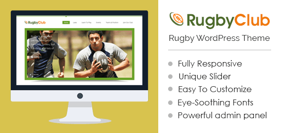 Rugby WordPress Theme